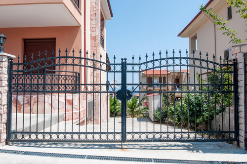 automatic security gate installed in Albuquerque